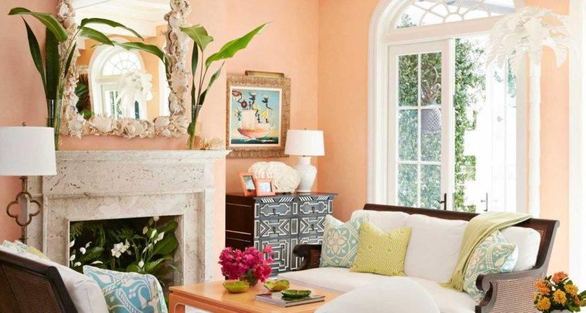 Beautiful Wall Colors Living Room Peach