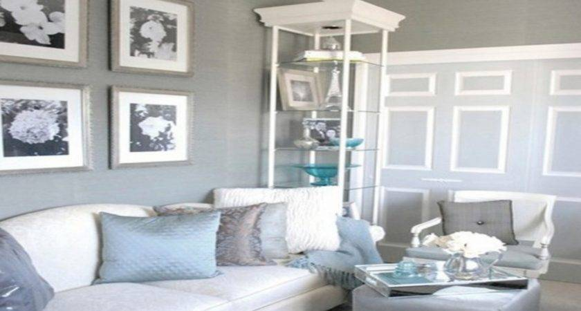Beautiful Wall Paint Colors White Gray Living Room