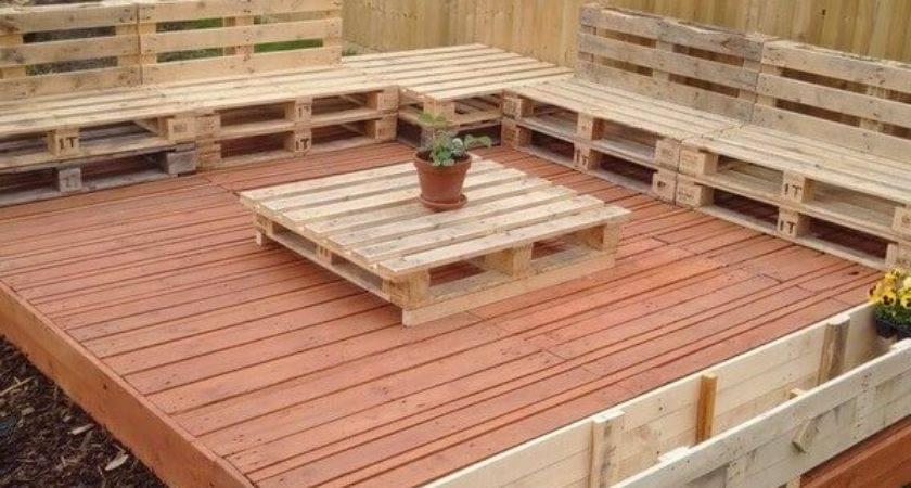 Beautiful Wooden Pallet Deck Ideas Pallets