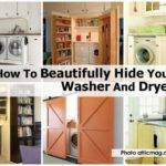 Beautifully Hide Your Washer Dryer