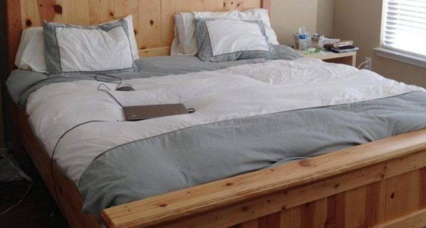 Bed Frames Res Pallet Storage Wood