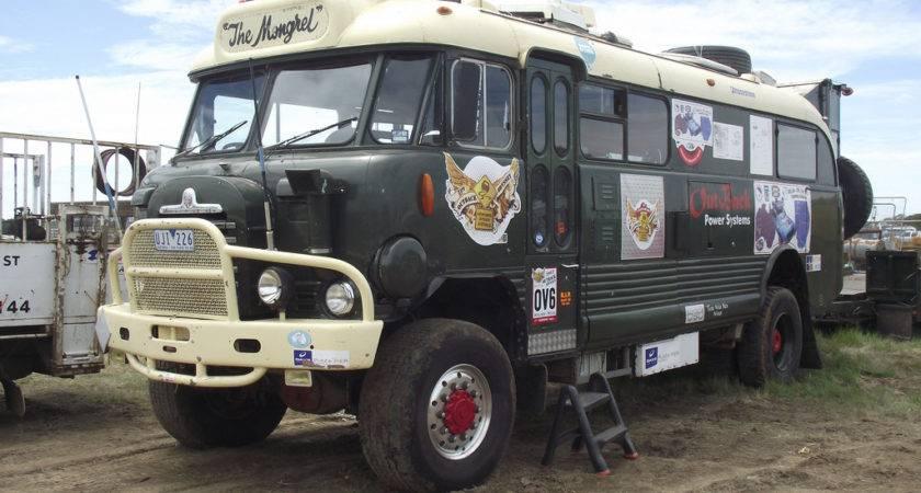 Bedford Bus Camper Rare Australia