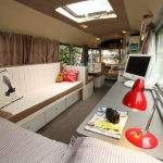 Bedford Bus Tiny House Swoon