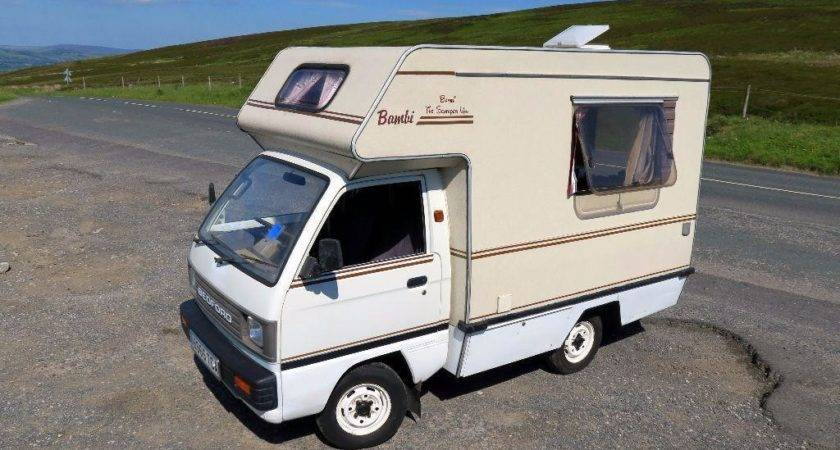 Bedford Rascal Bambi Small Retro Campervan Micro Motorhome