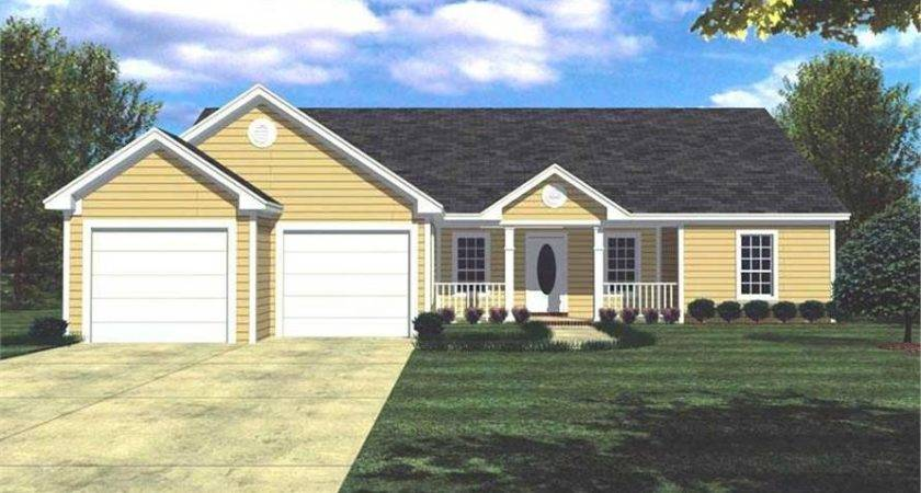 Bedrm Country House Plan