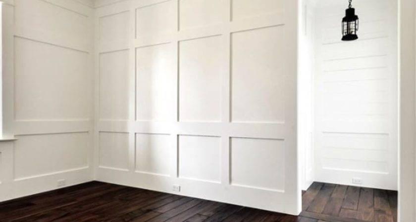 Bedroom Board Batten Shiplap Walls Walnut Wide