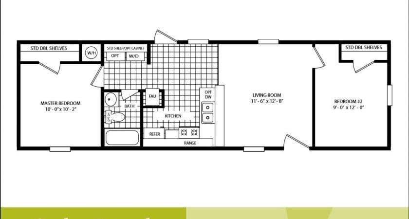 Bedroom Manufactured Home Plans