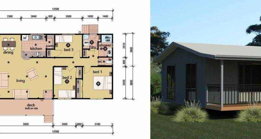 Bedroom Manufactured Modular Homes Design Plans
