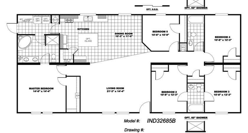 Bedroom Mobile Homes Floor Plans Photos Video