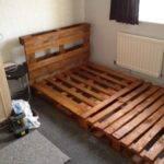 Bedroom Recycle Pallet Wood Twin Bed Headboard