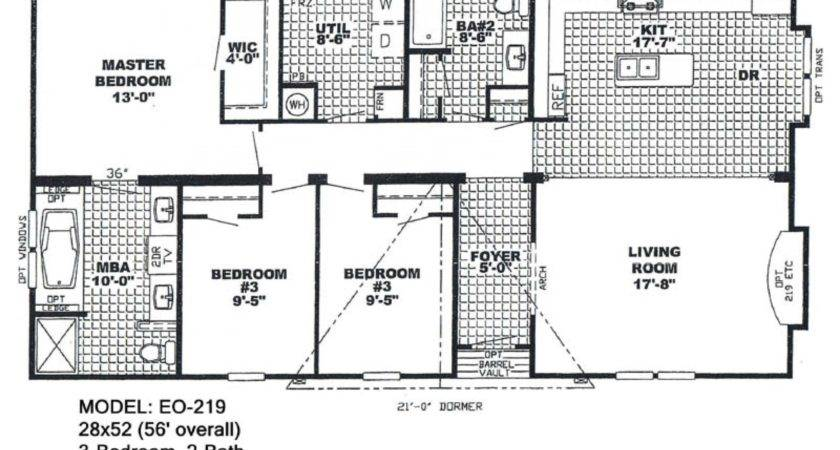 Bedroom Single Wide Mobile Home Floor Plans Inspirations