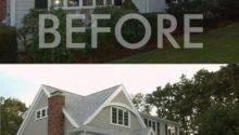 Before After Adding Second Story Ranch
