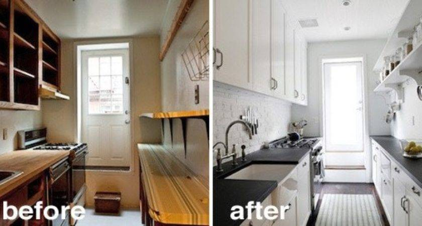 Before After Creative Kitchen Renovations Kitchn