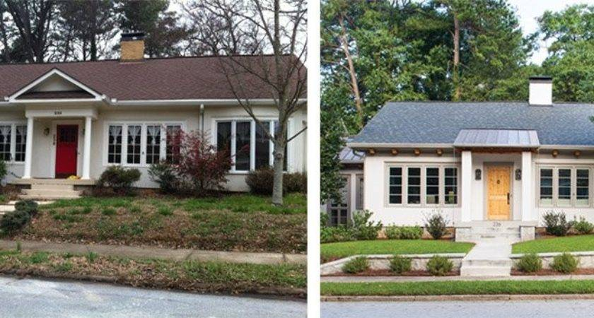 Before After Exterior Home Makeovers Hobbylobbys Info