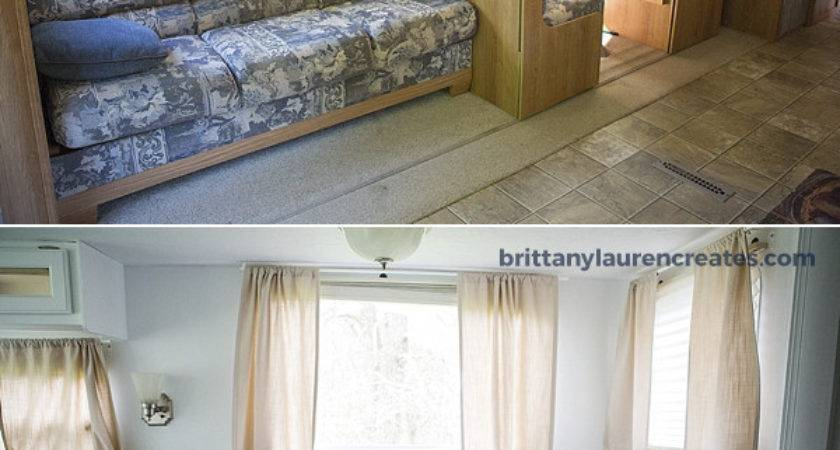 Before After Gorgeous Diy Camper Renovation