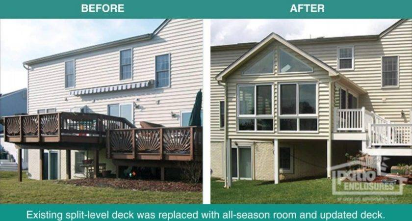 Before After Home Additions Project Photos Youtube