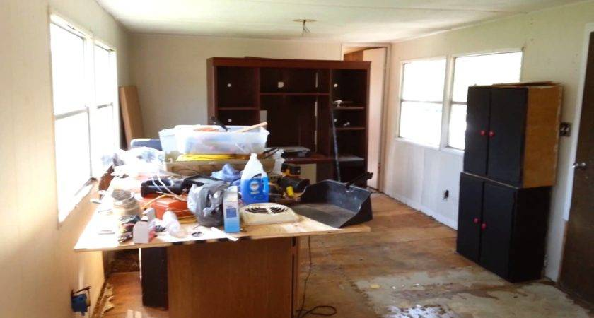 Before After Mobile Home Remodel Youtube