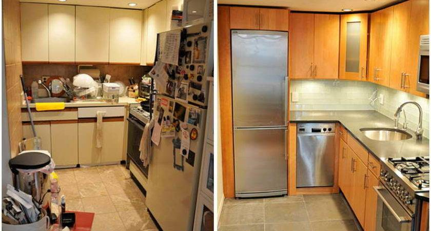 Before After Small Kitchen Remodels Modern Kitchens