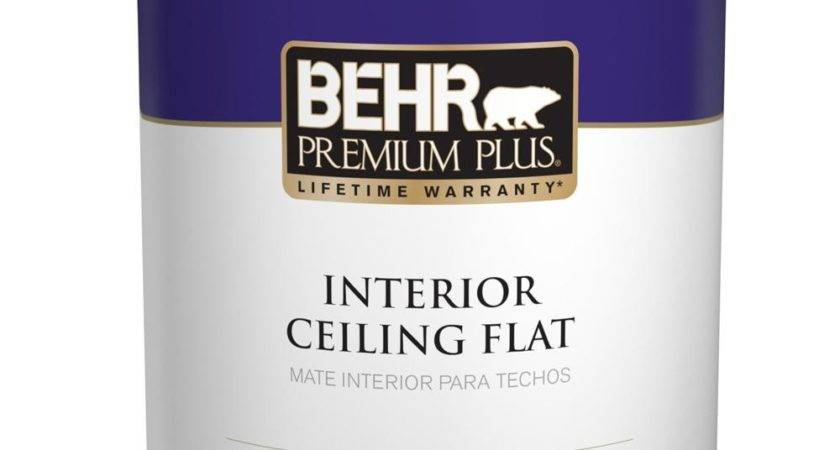 Behr Premium Plus Flat Interior Ceiling Paint
