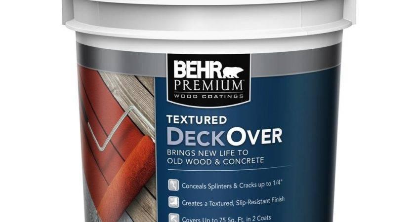 Behr Premium Textured Deckover Gal Wood