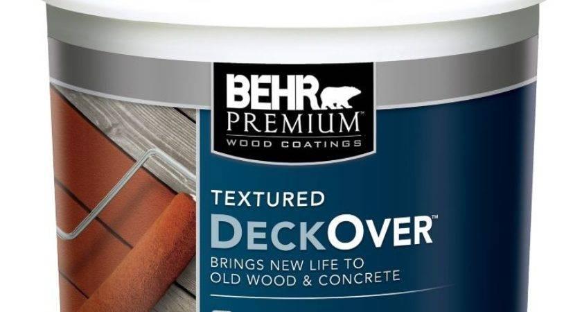 Behr Premium Textured Deckover