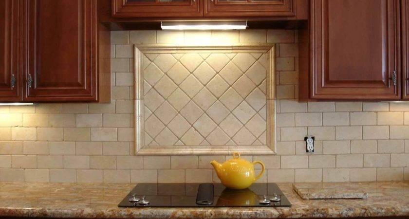 Beige Backsplash Tile Ideas Cabinet Hardware Room