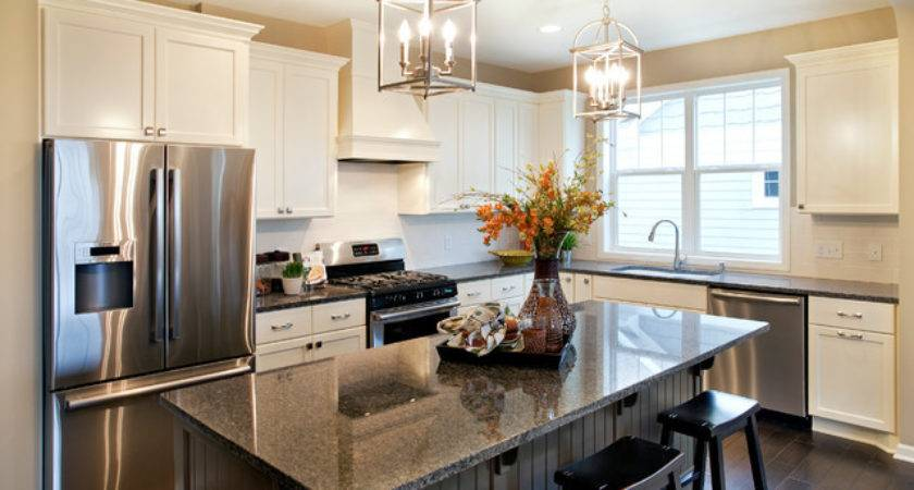 Belmont Model Home Kitchen Traditional