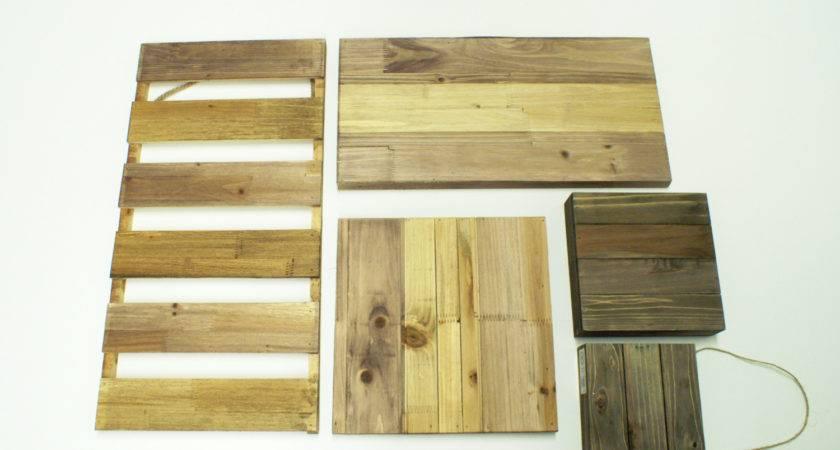 Ben Franklin Crafts Frame Shop Pallet Board Signs