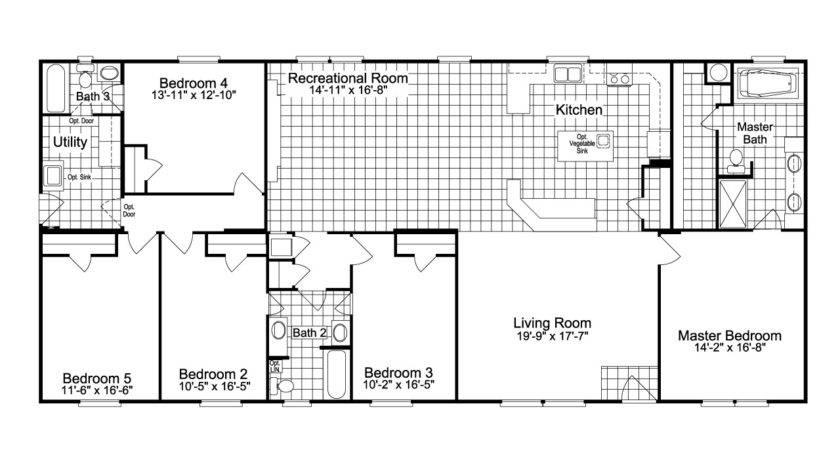 Benbrook Extra Wide Floor Plan