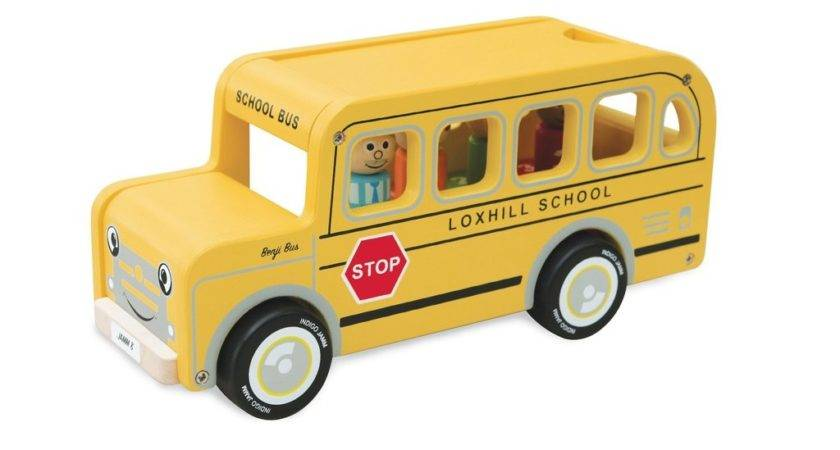 Benji School Bus Jamm Toys
