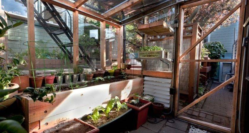 Bernal Heights Greenhouse Addition Contemporary Granny