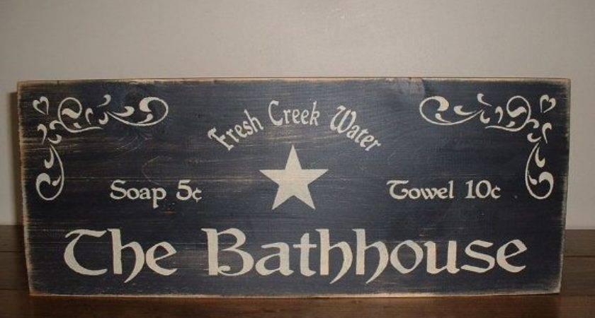 Best Bathroom Signs Pinterest
