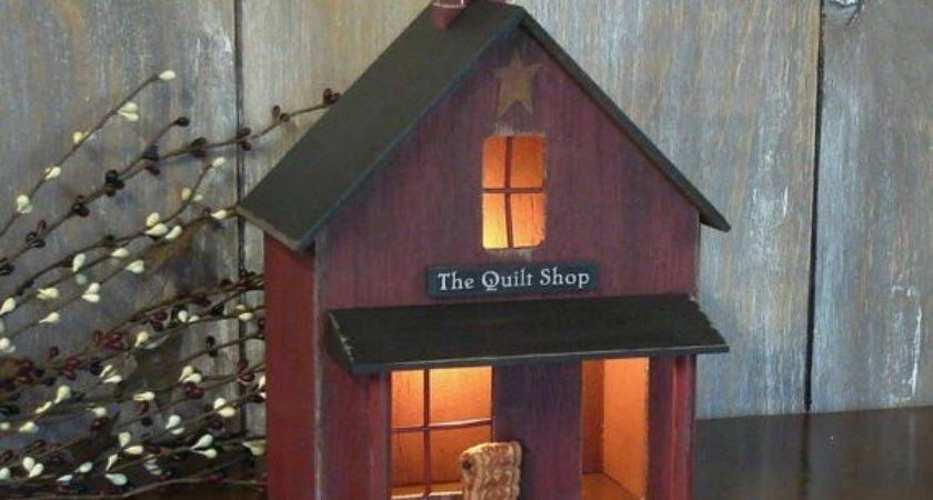 Best Cabins Saltbox Lighted Houses