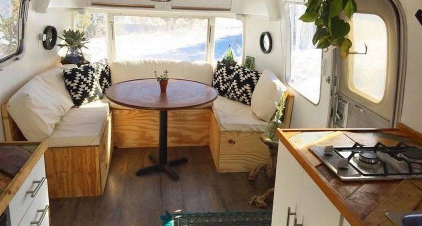 Best Camper Interior Remodel Ideas Abchomedecor