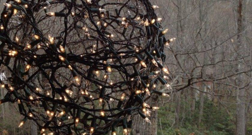 Best Chicken Wire Balls Pinterest Christmas