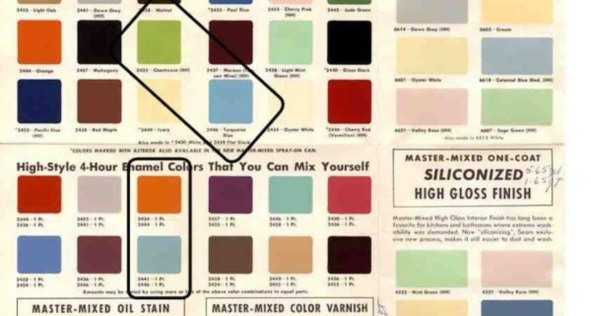 Best Color Palette Mid Century Pinterest
