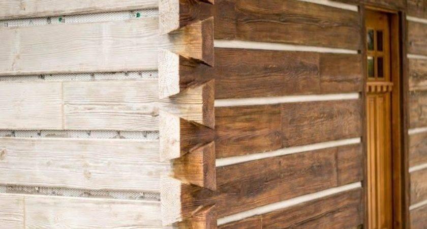 Best Concrete Log Siding Pinterest Cement
