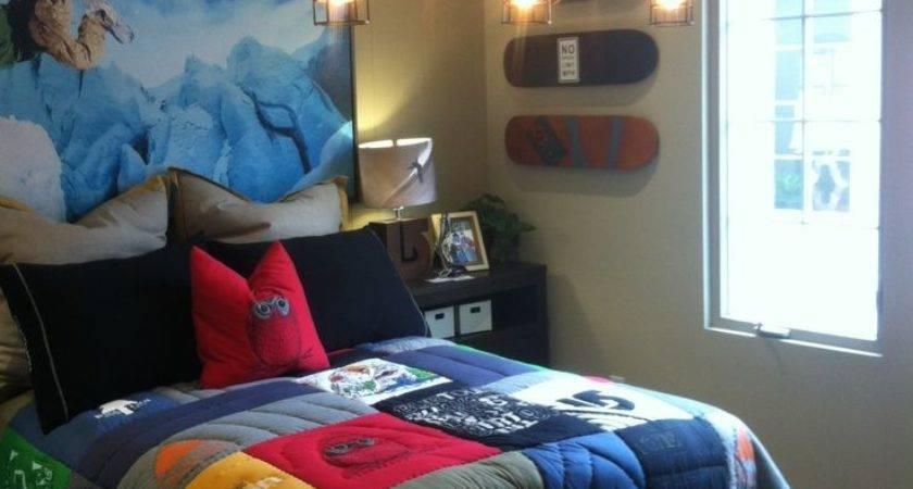 Best Cool Teen Boy Room Ideas Pinterest