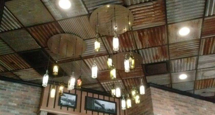 Best Corrugated Tin Ceiling Ideas Pinterest