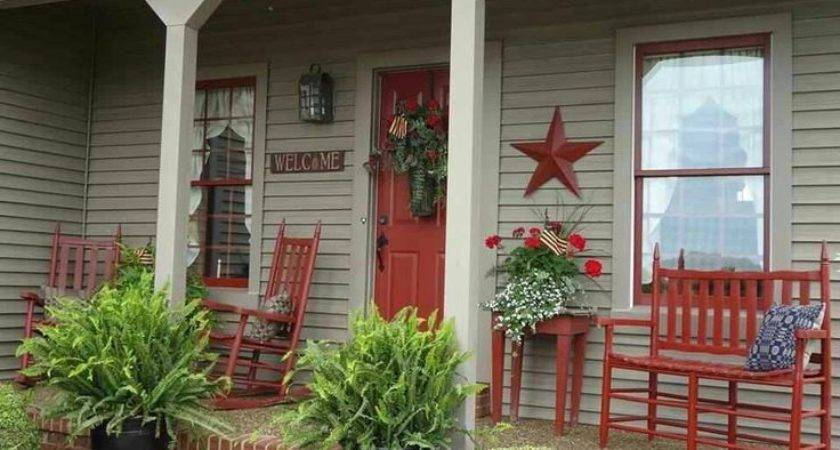 Best Country Front Porches Ideas Pinterest Stone