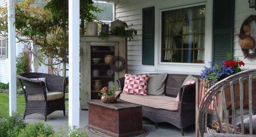 Best Country Porch Season Room Pinterest