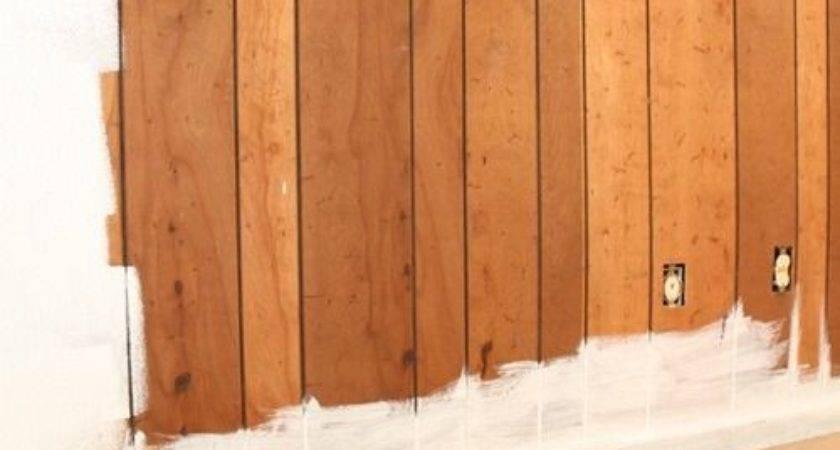 Best Cover Wood Paneling Ideas Pinterest Paint