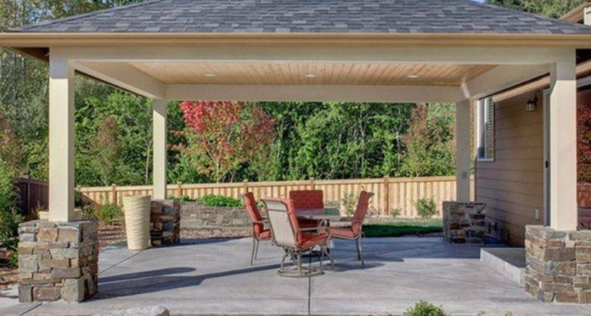 Best Covered Patio Design Ideas Pinterest Outdoor