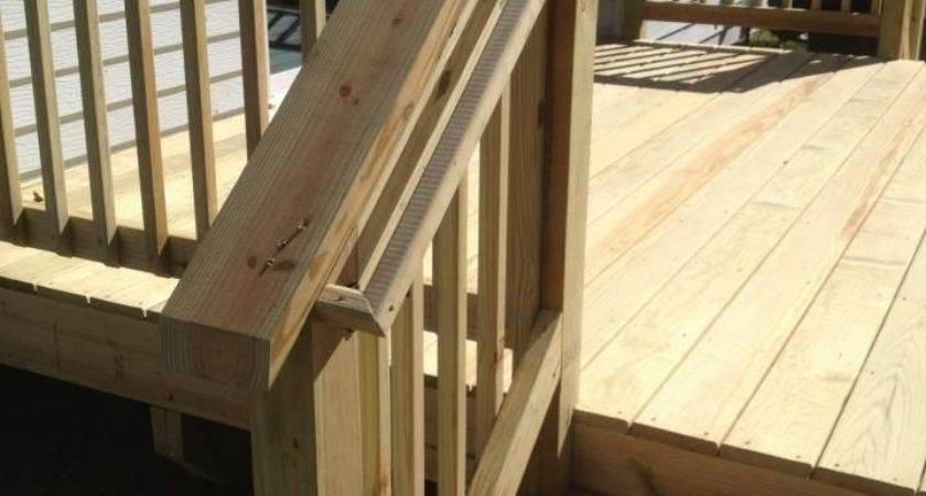 Best Deck Stair Railing Ideas Pinterest Outdoor