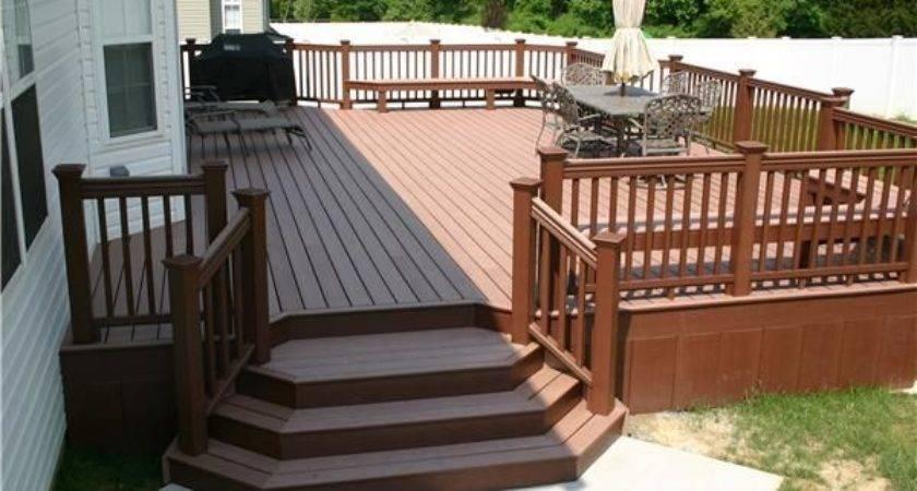 Best Decks Pinterest Backyard Deck Designs