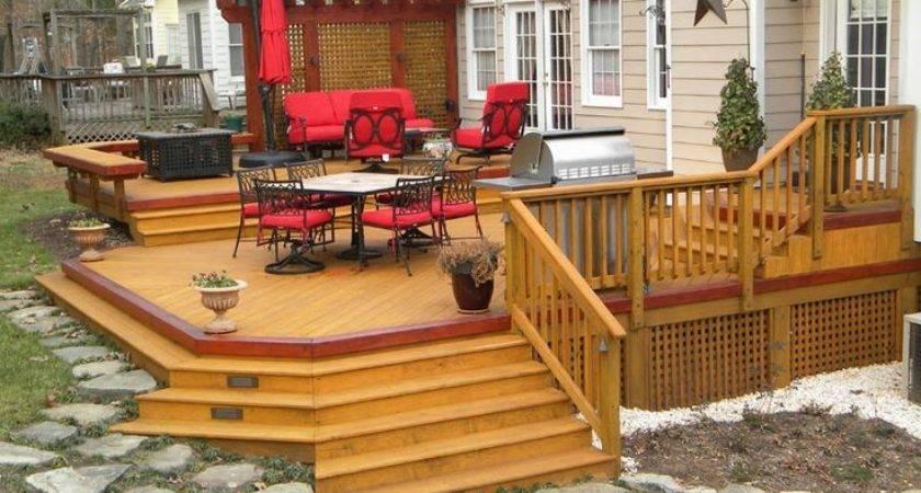 Best Decks Pinterest Wooden