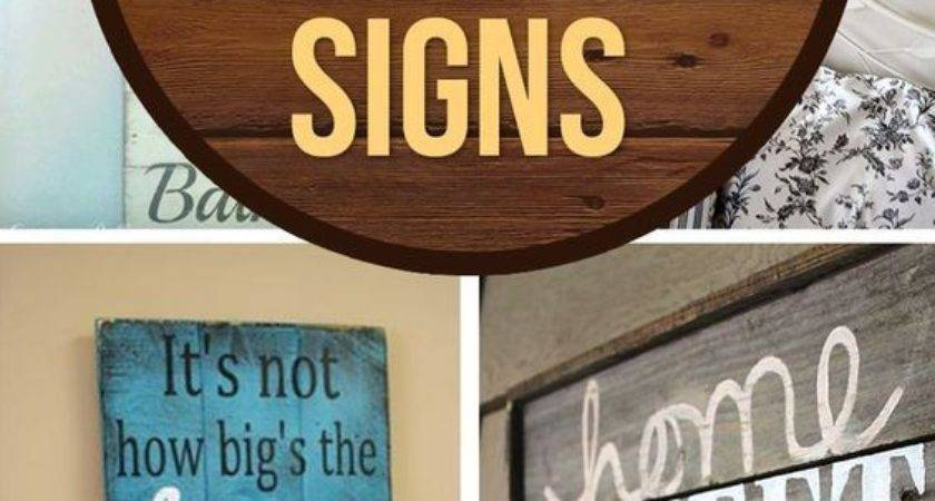 Best Distressed Wood Signs Ideas Pinterest Rustic
