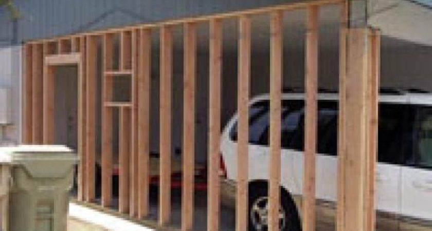 Best Enclosed Carport Ideas Pinterest Side