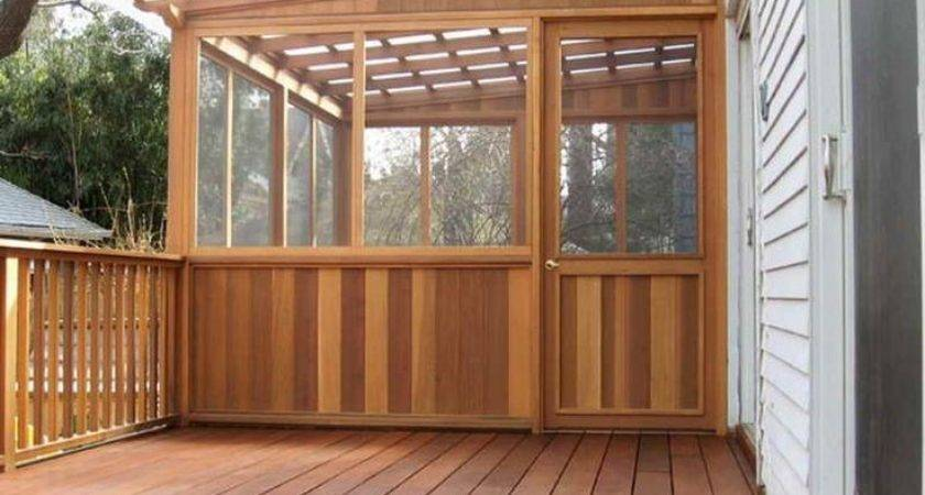 Best Enclosed Decks Ideas Pinterest Patio Deck