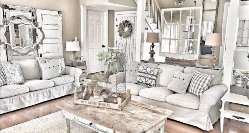Best Farmhouse Living Rooms Ideas Pinterest